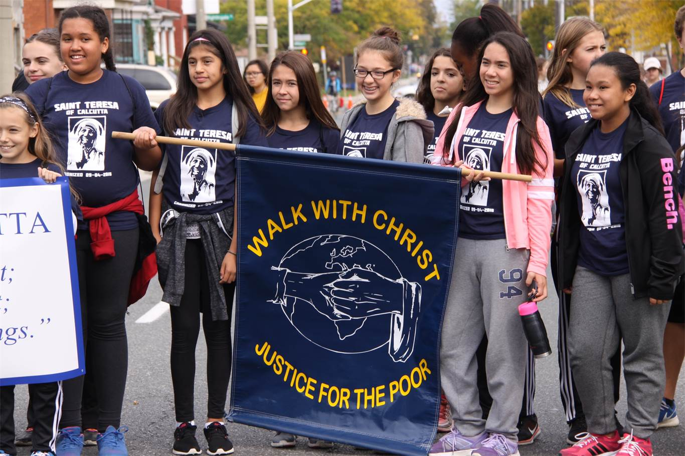 "Annual System-wide Pilgrimage ""Walk with Christ: Justice for the Poor"""